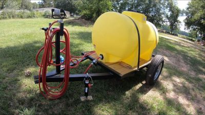 325 Gallon Trailer Sprayer
