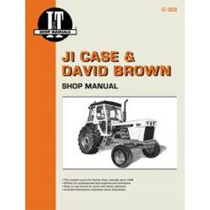 Repair Manual C203 - Case/David Brown I&T Collection Series Tractor