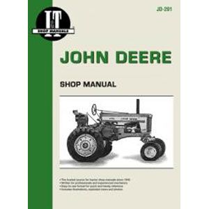 I & T Shop Repair Manual for John Deere 40, 80, 320, 330, 420, 430, 435, 440, 720, 730, 820 & 830
