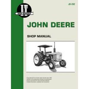 I & T Shop Repair Manual for John Deere 2040, 2240, 2440, 2510, 2520, 2630, 2640, 4040, 4240, 4440, 4640, 4840