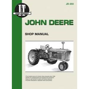 I & T Shop Repair Manual for John Deere 3010, 3020, 4000, 4010, 4020, 4520, 4620, 5010, 5020, 6030