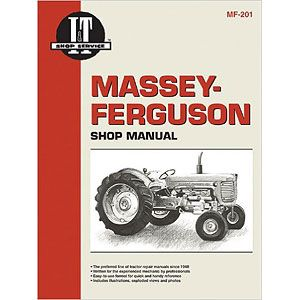 Service Manual for Massey Ferguson MF201