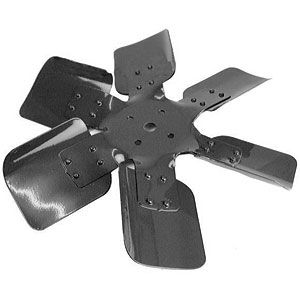 6 Blade Fan for Ford/New Holland Models 2810, 3910, 4600, 5100 and More