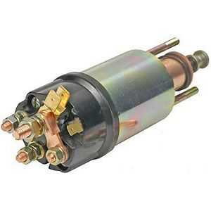 5 Terminal Starter Solenoid for Ford Models 2310, 3910, 4600, 7000 and More