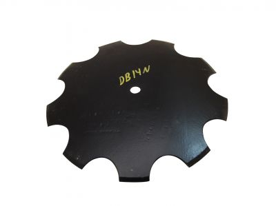"Notched Disc Blade - 14"" For 3/4"" Round Axle"