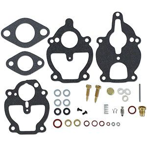 Economy Carburetor Kit - Allis Chalmers Model B, IB, C, CA, D10, D12, RC, WC, WD, WF, 190, 190XT