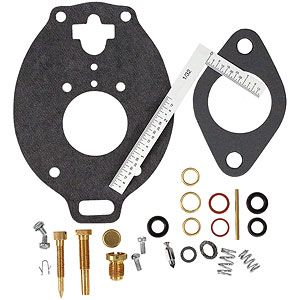 Economy Carburetor Repair Kit for Allis Chalmers, Case, John Deere, Massey Ferguson Tractors and More