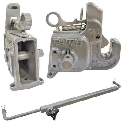 Pat's 3-Point Quick Change Hitch (Catagory 1 With Stabilizer Bar)