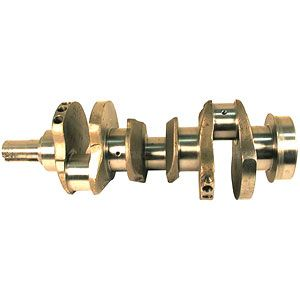 Crankshaft (3 Cyl With 4.4 Stroke) for Ford/New Holland Models 530A Industrial, 545 Industrial, 4100 and More
