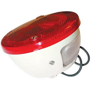 6 Volt Tail Light Assembly for Ford (1939-1964) Models NAA, NAB and Golden Jubilee