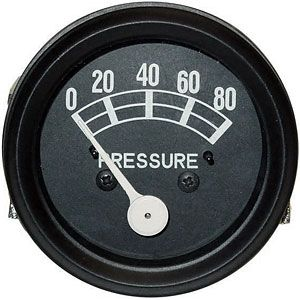 80 lb Oil Gauge (Original Style) for Ford (1939-1964) 9N, 501, 4030 and More