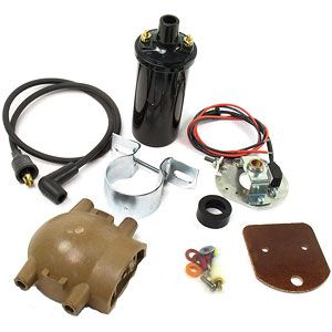 Electronic Ignition Conversion Kit with Canister Style Coil for Ford (1939-1964) Models 9N, 2N and 8N