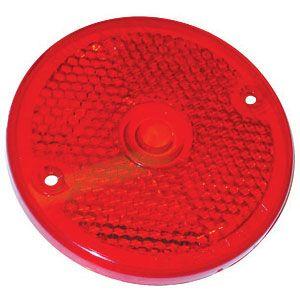 Red Plastic Tail Light Lens