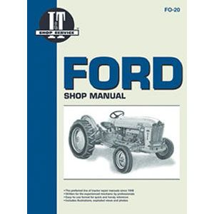 Shop Manual (Ford 600 thru 4000 up to 1964)
