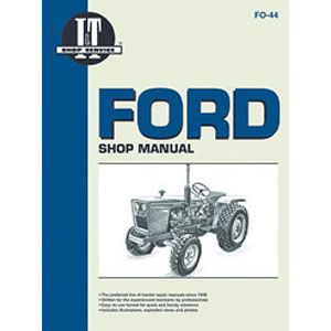I&T Shop Manual (Ford/New Holland Compact Models 1100, 1110, 1200, 1210, 1300, 1310, 1500, 1510, 1700, 1710, 1900, 1910 and 2110)