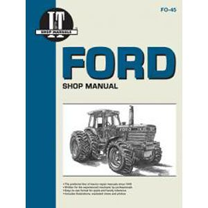 I&T Shop Manual (Ford/New Holland Compact Models 1120, 1220, 1320, 1520, 1720, 1920 and 2120)