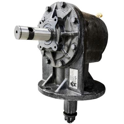 "75HP Gearbox with 1-3/8"" Smooth Input Shaft"