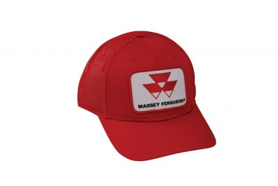 Massey Ferguson Hat - Red Mesh