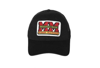 Minneapolis Moline Hat - Black Mesh