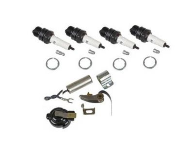Ignition Tune Up Kit for International Farmall Distributor Models BN, HV, MTA, 130, 240 and More