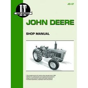 I & T Shop Repair Manual for John Deere 1020, 1520, 1530, 2020 & 2030