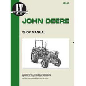 I & T Shop Repair Manual for John Deere Models 850, 950 & 1050