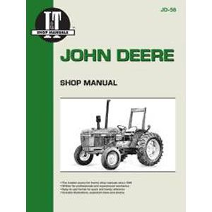 I & T Shop Repair Manual for John Deere 2150, 2155, 2255, 2350, 2355, 2355N, 2550 & 2555