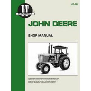 I & T Shop Repair Manual for John Deere Models 4055, 4255, 4455, 4555, 4755 & 4955
