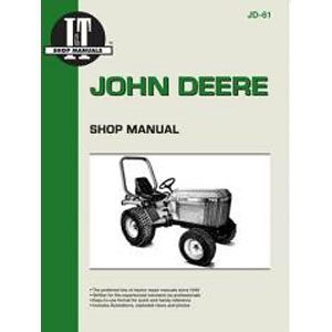 I & T Shop Repair Manual for John Deere Models 655, 755, 756, 855, 856 & 955