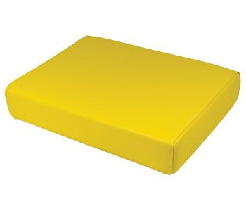 """Bottom Cushion (Yellow 19-1/2"""" x 14"""") for John Deere and Minneapolis Moline Tractor Models"""