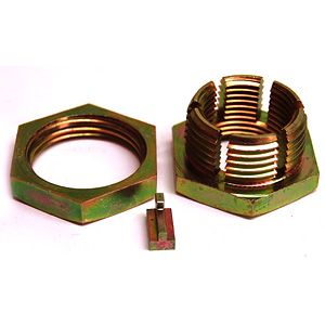 "Front Wheel Clamp Lock Nut (1"" - 14 UNF thread) for Case & John Deere Model Tractors"
