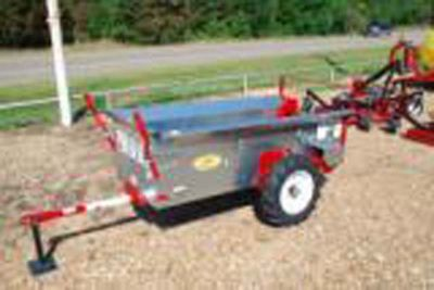 Manure Spreader Pull Type 28 Cu. Feet