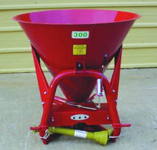 Deluxe Spreader - Metal - 500 lb