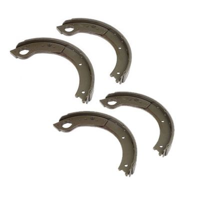 Bonded Brake Shoes With Lining (Set of 4) for Ford (1939-1964) 501, 1801 Industrial, 4030 and More