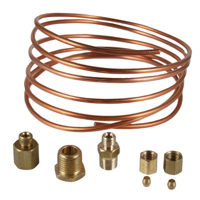 Oil Pressure Gauge Copper Line Kit for Allis Chalmers, Case, Ford Tractors and More
