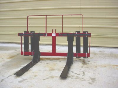 Pallet Fork for Front End Loaders and 3 Point Hitch