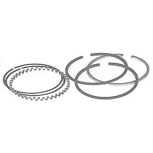 4 Cylinder Piston Ring Set for Allis Chalmers Model B, Case Models R and RC, and Massey Ferguson TO30