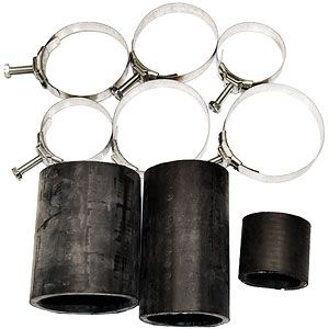 Radiator / Air Cleaner Hose Kit (With Original Style Wittek Style Hose Clamps)