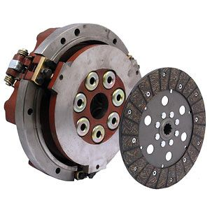 "10"" Dual Clutch Assembly for Allis Chalmers, Long, and Oliver Tractor Models"