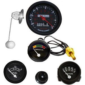 Instrument Panel Gauge Kit (12 Volt, O-Speed) for Ford (1939-1964) 601, 701 and 2000-4 Cylinder