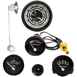 Instrument Panel Gauge Kit (12 Volt, 4 Speed Transmission) for Ford (1939-1964) 801, 901 and 4000-4 Cylidner