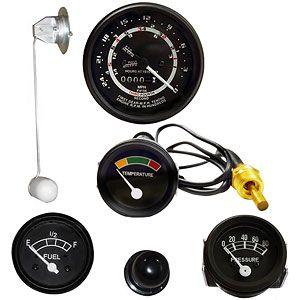 Instrument Panel Gauge Kit (12 Volt, 5 Speed Transmission) for Ford (1939-1964) 801, 901 and 4000-4 Cylinder