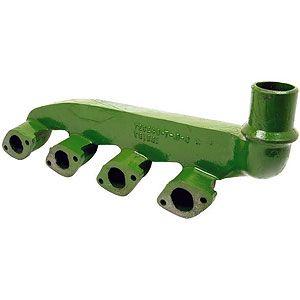 Exhaust Manifold for 4 Cyl John Deere Diesels