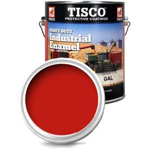 Gallon Size Paint (Case Flambeau Red)
