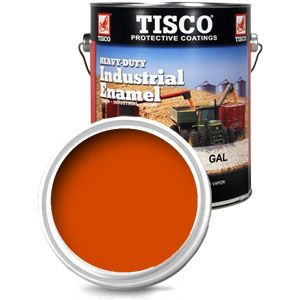 Gallon Size Paint (Allis Chalmers Persian Orange #1)