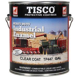 Gallon Size Paint (Clear Coat Industrial Enamel)