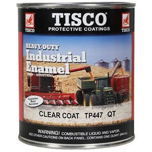 Quart Size Paint (Clear Coat Industrial Enamel)