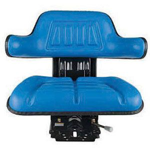 Universal Full Suspension Seat (Blue) for Ford Models 9N, 501, 2000-4 Cylinder, 6600 and More