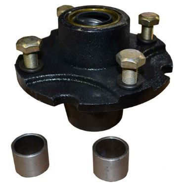"""Tailwheel Hub Kit with Bearings for BushHog, Land Pride, Mohawk and More with 1"""" Axle"""