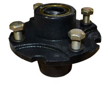 """Tailwheel Hub Kit with Bearings for BushHog, John Deere, Land Pride and More with Fits 3/4"""" Axle"""